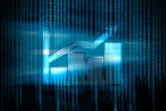 Wzrost online biznes Zdjęcia Stock