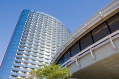Wzrosta wysoki budynek biurowy Zdjęcia Royalty Free