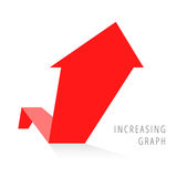 Wzrostowy Biznesowy pojęcie 5 royalty ilustracja