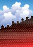 wzrostowy budynki mieszkalne Obraz Royalty Free