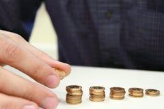 wzrostowy pieniądze Zdjęcie Stock