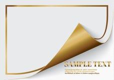 Wzywa kędzior z cieniem na pustym prześcieradle papier, projekta elemencie dla reklamować i promocyjnej wiadomości odizolowywając royalty ilustracja