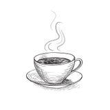 Xícara de café Ícone da ruptura de café Fotografia de Stock Royalty Free