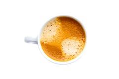 Xícara de café isolada Imagens de Stock Royalty Free