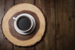 Xícara de café surpreendente na manhã foto de stock royalty free