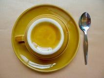Xícara de chá cerâmica fotos de stock