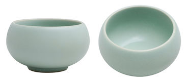 Xícara de chá chinesa da terrina do Ru Fotografia de Stock Royalty Free