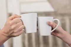 Xícaras de café Imagem de Stock
