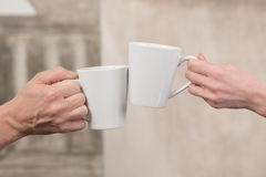Xícaras de café Imagens de Stock Royalty Free