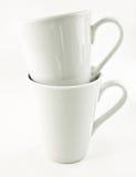 Xícaras de chá Fotografia de Stock Royalty Free