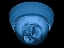 x光芒安全监控相机或cctv照相机 向量例证