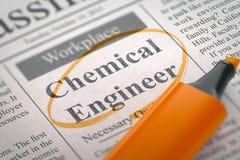We& x27 επαν μισθώνοντας χημικός μηχανικός τρισδιάστατος Στοκ Εικόνα