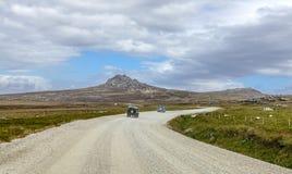 4X4 σαφάρι στα Νησιά Φόλκλαντ νησί-5 Στοκ εικόνα με δικαίωμα ελεύθερης χρήσης