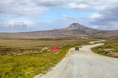 4X4 σαφάρι στα Νησιά Φόλκλαντ νησί-5 Στοκ Φωτογραφία