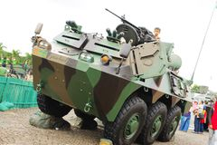 6x6 τεθωρακισμένο όχημα μεταφοράς προσωπικό anoa-2 Στοκ Εικόνες