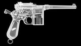 X оружие Рэй иллюстрация штока