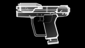 X оружие Рэй иллюстрация вектора