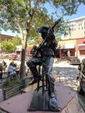& x22; Сердце Music& x22; Osamada Obazee & x28; CA& x29; ; Скульптура на Sioux Falls SculptureWalk & x28; 2018& x29; стоковое фото rf