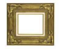 8 x 10华丽葡萄酒样式金黄框架 免版税库存照片