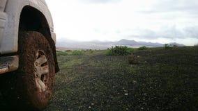 4x4在兰萨罗特岛 免版税库存照片