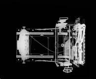 4x5大型格式化照相机的X-射线 免版税库存照片