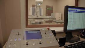 X-射线控制pannel 股票视频