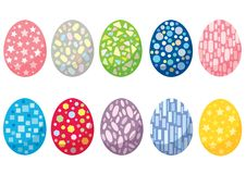Easter egg design and Annual festival on white background vector illustration