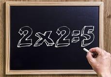 2x2=5 Стоковая Фотография