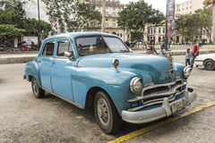 50&#x27 adiantado; s Plymouth Havana Fotografia de Stock Royalty Free