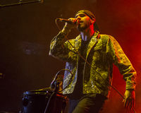 X Ambassadors on stage Royalty Free Stock Images