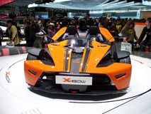 X-arc de KTM à Genève 2007 Photographie stock