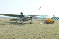 X328 atlanta anioła turbina szczególnie wyposażał samolot dla nieba div Obrazy Stock