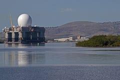 X-Band Radar Ship Stock Photography