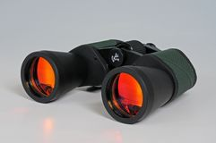 12 x 50 binoculars. stock photography