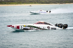 X-Cat Speed Boat Stock Images