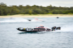 X-Cat Speed Boat Stock Image