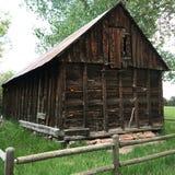 1800& x27; celeiro de s em Lafayette, Colorado fotografia de stock