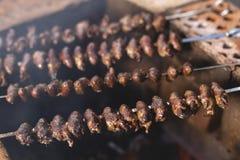 & x22; Churrasco de curacao& x22; , alimento brasileiro tradicional imagem de stock