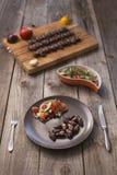 & x22; Churrasco de curacao& x22; , alimento brasileiro tradicional do assado foto de stock royalty free