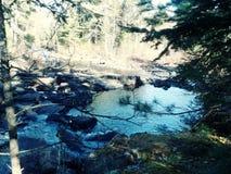 & x28; Continued& x29; Спокойное река стоковое фото