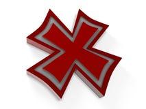 X contrassegno Fotografie Stock
