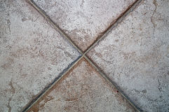 X costituito dalle piastrelle per pavimento Immagine Stock