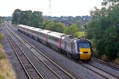 X Country passenger rail Stock Photos