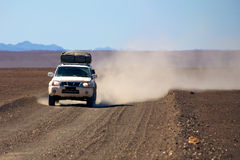 4x4 dans le désert Image stock