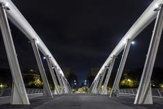 & x22; Della Musica& x22 de Ponte; - Ponte da música - em Roma Fotografia de Stock