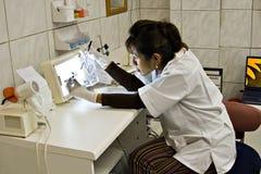 X- Dentista del rayo Fotos de archivo