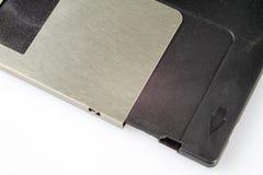 3 5 &#x22 ; disquette Support d'informations cassé à de vieux ordinateurs sur un isolat Photo stock
