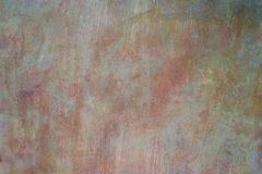 Rusty Metal Watercolor Fine Art Texture / Grunge Background Royalty Free Stock Images