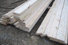 2x4 drewno Fotografia Stock