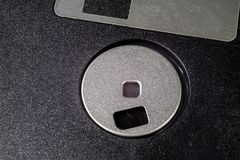 3 5 &-x22; dyskietka Łamany dane przewoźnik starzy komputery na isolat zdjęcie stock